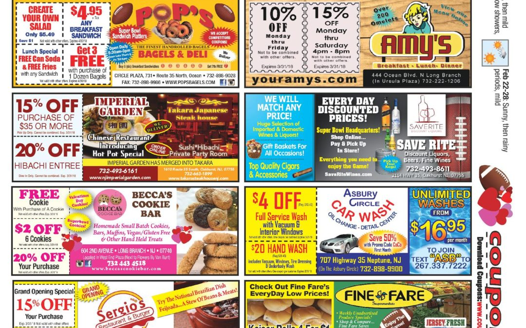 JANUARY 2018 COUPON CONNECTION/HEALTH & BEAUTY CONNECTION – Click Here To See Coupons