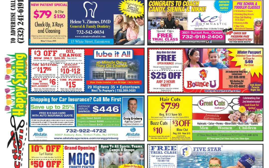 March 2018 Coupon Connection/Happy Spring! Click Here To See Coupons