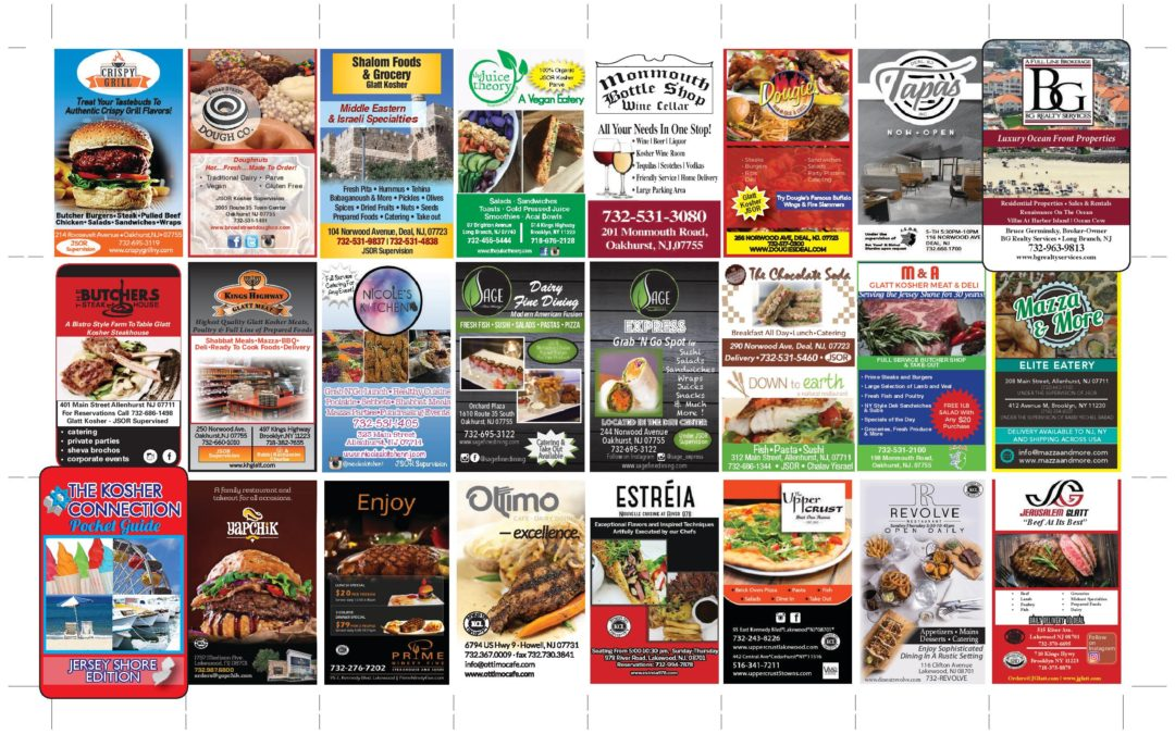 2018 Kosher Connection Pocket Guide-Click Here To View Ads