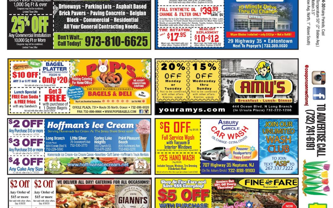 June/2020 Coupon Connection/Corona Virus Edition-Click To See Coupons & Ads