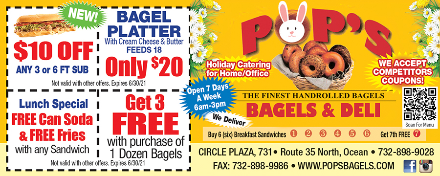 Pop's Bagels & Deli